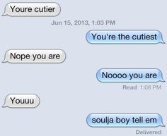how to show someone you care over text
