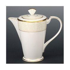 Noritake White Palace 6 Cup Coffee Server