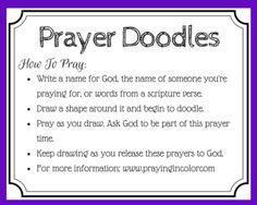 Prayer Doodles More