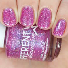 Different Dimension Mrs. Rabbit | Let Them Eat Glitter: YWP Collab | Peachy Polish #pink