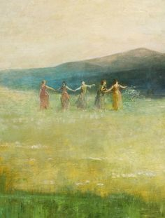 wasbella102: Spring - Thomas Wilmer Dewing