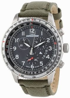 "Timex Men's T49823DH ""Expedition Military"" Stainless Steel Watch with Nylon Band $119.96 http://roksmu.blogspot.com/2014/07/expedition-watches.html"