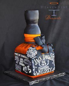 Jack Daniel's Tennessee Whiskey Cake