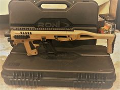 #MicroRoni #CAA #Glock #Glock_19 #Glock_17 #Glock19 #Glock17 #Firearms #Firearms_friday #Weapons #Weapon #Pistol #Guns #Gun_porn #Gunporn #Gun_control #Rifle  Micro Roni Desert Tan for Glock 17/19 now avaiable for purchase! Order Now at https://www.yrsinc.com/en/micro-roni