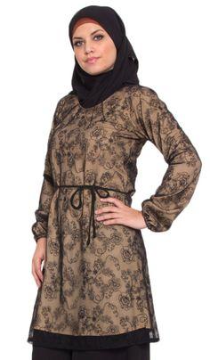 1cb437396d 27 Best Islamic Long Tunic Tops   Dresses images
