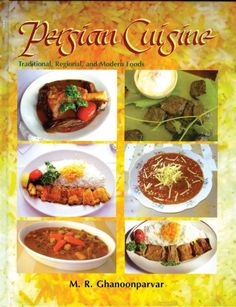 Persian Cuisine: Traditional, Regional, And Modern Foods by M. R. Ghanoonparvar http://www.amazon.com/dp/1568591918/ref=cm_sw_r_pi_dp_6x8bvb1VZQQR2