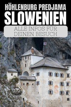 Höhlenburg Predjama in Slowenien: Alle Infos für deinen Besuch | Du planst einen Ausflug in die Postojna Höhle und zur Höhlenburg Predjama in Slowenien? In diesem Artikel gebe ich dir alle Infos für deinen Besuch. #Slowenien #Predjama #Höhlenburg #Burgen #Postojna #Reisen #Reisetipps #Urlaub #Kurzurlaub #Roadtrip Montenegro, Reisen In Europa, Mount Rushmore, Road Trip, Castle, Europe, Mountains, City, World