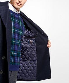 Iconic Wool Pea CoatNavy - prep for Autumn