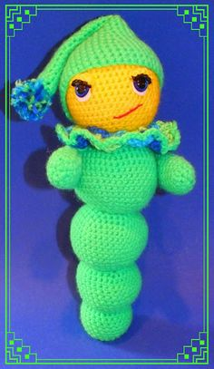 Connie's Spot© Crocheting, Crafting, Creating!: Free Glow Worm Pattern©