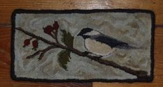 Hey, I found this really awesome Etsy listing at https://www.etsy.com/listing/228257457/chickadee-rug-hooking-pattren