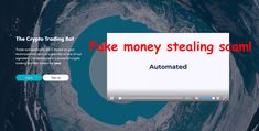 Cryptohopper is a fake money stealing scam! Earn Money, Investing, Reading, Earning Money, Reading Books