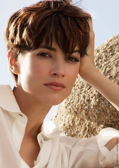 Best Bob Hairstyles & Haircuts for Women - Hairstyles Trends Tomboy Hairstyles, Permed Hairstyles, Summer Hairstyles, Very Short Hairstyles, Really Short Hair, Short Hair Cuts, 80s Short Hair, Cut My Hair, New Hair