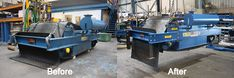 The Bunting overband separators are renowned around the world as the most effective units for the continuous removal of tramp ferrous metal from product streams Before After Photo, Magnets, Plant, The Unit, Belt, Photos, Belts, Pictures, Plants