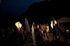 evening lanterns