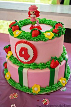 Strawberry Shortcake Birthday Ideas