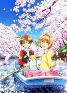 Watch Cherry Blossoms With Cardcaptor Sakura and Syaoran at the Chiyoda Sakura Matsuri 2018 Cardcaptor Sakura Clear Card, Sakura Kinomoto, Syaoran, Otaku, Fantasy Anime, Hokusai, Xxxholic, Card Captor, Girls Anime