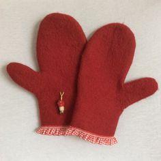 Gefilzte Handschuhe von FilzWollLust auf Etsy