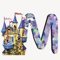 Alfabeto de Princesas Disney. | Oh my Alfabetos! Disney Alphabet, Cute Alphabet, Alfabeto Disney, Disney Princess Party, My Music, To My Daughter, Artist, Minne, Disney Princesses