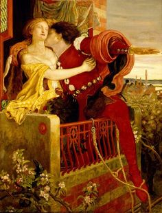 The tragic love story of Romeo and Juliet has become the epitome of love and devotion over the centuries. The story was penned into words by William Shakespeare. Shakespeare borrowed the plot from an original Italian tale based inVerona. Dante Gabriel Rossetti, William Shakespeare, Shakespeare History, John William Waterhouse, Winslow Homer, Edward Robert Hughes, John Everett Millais, Romeo Und Julia, Pre Raphaelite Brotherhood