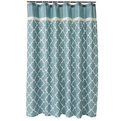 me gusta! dots 108-inch x 72-inch fabric shower curtain