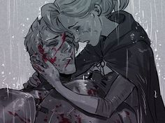 Overwatch jack /soldier 76 and angela /mercy Overwatch Reaper, Overwatch Comic, Overwatch Fan Art, Character Art, Character Design, Learn Art, Attack On Titan Anime, Military Art, Pretty Art