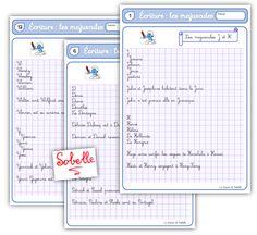French Cursive, Cycle 3, Free Calendar, Home Schooling, Homeschool, Bullet Journal, Classroom, Teaching, Writing