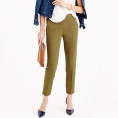 "If you liked the Minnie, you're going to <i>love</i> the Martie. Higher waist + cropped length = legs for miles. Even better: This pair of pants goes with just about <i>everything.</i> <ul><li>Sits just above hip.</li><li>Fitted through hip and thigh, with a slim, cropped leg.</li><li>26 1/2"" inseam.</li><li>Cotton/viscose/elastane.</li><li>Side zip.</li><li>Slant pockets, back welt pockets.</li><li>Machine wash.</li><li>Import.</li></ul>"