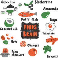 What Are the Best Foods for Brain Health? Healthy Eating Facts, Healthy Fats Foods, Foods For Brain Health, Healthy Eating Guidelines, Veggie And Fruit Smoothie, Smoothie Recipes With Yogurt, Best Vitamins For Brain, Healthy Pancake Mix, Dark Chocolate Benefits