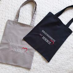 Ich liebe mein neues Maschinchen. Hab noch längst nicht alles ausprobiert, aber mit jedem Projekt wird es besser ;-) Reusable Tote Bags, Sachets, Amor, Projects