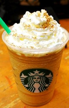 Starbucks Secret Menu: Pumpkin Pie Frappuccino.