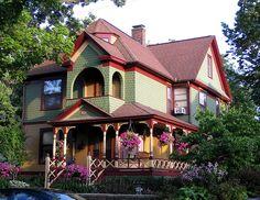 Beautiful House in Ann Arbor by Eridony, via Flickr