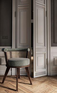 Classic Interior, Home Interior Design, Interior Architecture, Interior Decorating, Contemporary Architecture, Amsterdam Apartment, Door Design, Design Design, Interior Inspiration