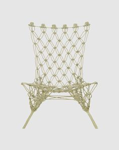 CAPPELLINI Knotted chair by Marcel Wanders