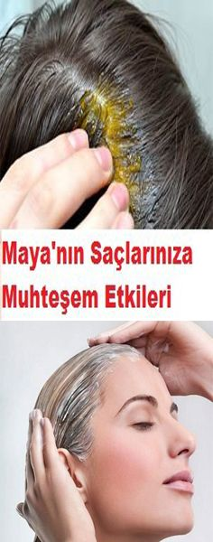 Magnificent Effects of Maya Mask on Your Hair- Maya Maskesinin Saçlarınıza Muhteşem Etkileri Great effects of yeast on your hair - Wavy Hair Care, Blonde Hair Care, Dark Curly Hair, Hair Care Oil, Blonde Ombre, Maya, Natural Hair Conditioner, Hair Protein, Natural Lipstick