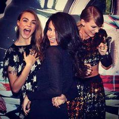 Selena Gomez - Cara Delevigne - Taylor Swift