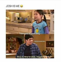 This picture makes me realize that girl was acting in Drake and Josh before she went to ICarly, I feel so stupid
