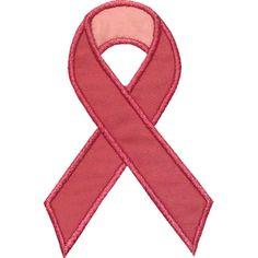 Awareness Ribbon Applique by HappyApplique.com