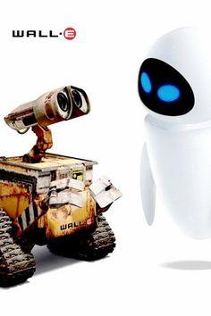 Eeeva?... Eeeevaaa.... Una de las mejores peliculas de pixar