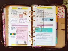 Kate Spade planner and accessories