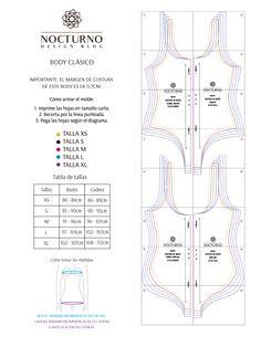 DIY Vestido de baño + molde gratis – Nocturno Design Blog Sewing Patterns Free, Free Sewing, Clothing Patterns, Fashion Sewing, Diy Fashion, Sewing Clothes, Diy Clothes, Diy Vestidos, Diy Bralette