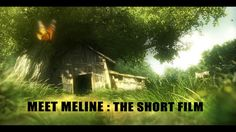 """MEET MELINE : THE ANIMATED SHORT FILM """"Meet Meline tells the story of a little girl whose curiosity is sparked by a mysterious creature as she plays in her grandparents'…"""