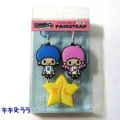 Sanrio x panson works ★ pair strap ★ retro cute! Kiki & Lala Kitty and my melody, Patty & Jimmy Cinnamoroll & USANA corresponds to a nonstandard-size mail
