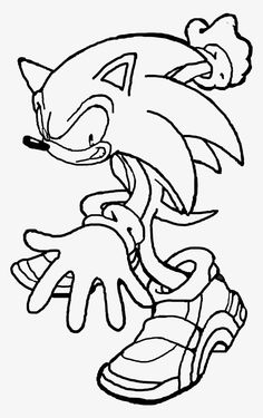 free printable super sonic coloring pages | Sonic ...