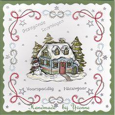 YB 228 Kersthuisje