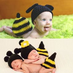 bba0eb767a2f4 Brand New Newborn Baby Crochet Knit Clothes Photo Photography Prop Costume  Hat #fashion #clothing