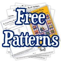 TONS of FREE quilt patterns...UNbelievable!!.