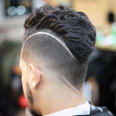 Wavy Faux Hawk + Undercut + Hair Designs