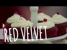 Cupcake red velvet - tutorial fácil - YouTube