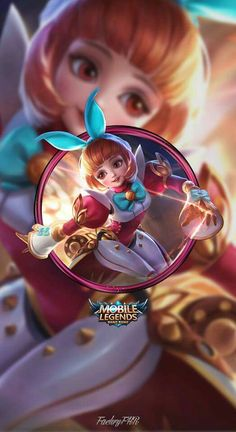 MasMochen: Wallpaper Mobile Legends Angela Bunnylove by FachriFHR Space Phone Wallpaper, Cute Galaxy Wallpaper, Homescreen Wallpaper, Hero Wallpaper, Emoji Wallpaper, Girls Anime, Anime Art Girl, Anime Siblings, Anime Couples
