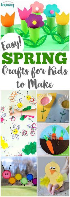 75 Easy Spring Crafts for Kids!
